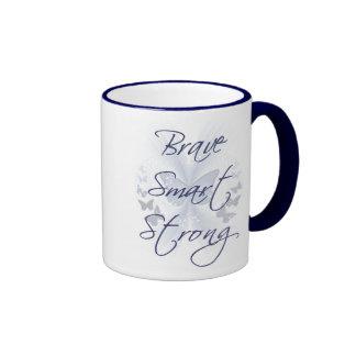 Brave Smart Strong Mugs