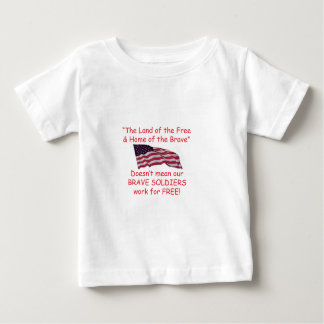 Brave Soldiers Baby T-Shirt