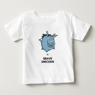 Brave Unicorn Baby T-Shirt