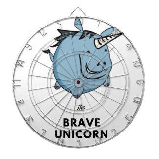 Brave Unicorn Dartboard