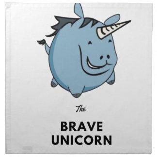Brave Unicorn Napkin