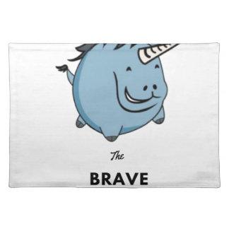 Brave Unicorn Placemat