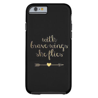 Brave wings phone case