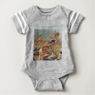 braves in battle baby bodysuit