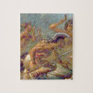 braves in battle jigsaw puzzle