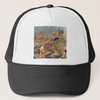 braves in battle trucker hat