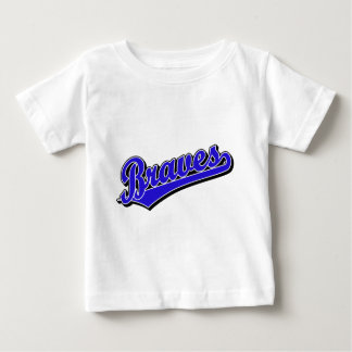 Braves in Blue Baby T-Shirt