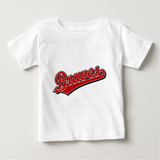 Braves in Red Baby T-Shirt