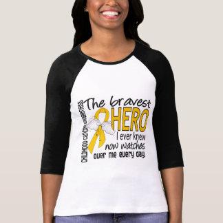 Bravest Hero I Ever Knew Childhood Cancer T Shirt