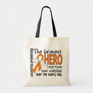 Bravest Hero I Ever Knew Leukemia Tote Bag