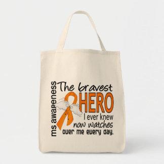 Bravest Hero I Ever Knew MS Canvas Bag