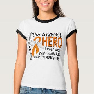 Bravest Hero I Ever Knew Multiple Sclerosis Tshirts