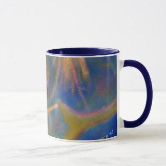 """""""Braving The Depths"""" Mermaid Art (Redhead) Mug"""