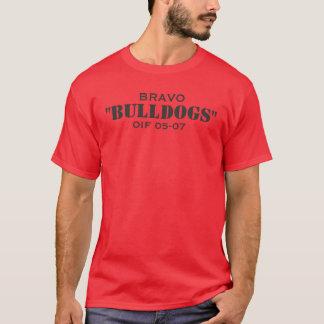 "BRAVO, ""BULLDOGS"", OIF 05-07 T-Shirt"