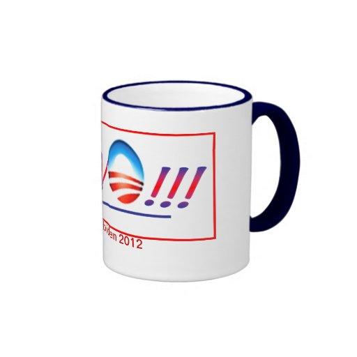 Bravo Obama-Biden Coffee Mugs