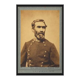 Braxton Bragg Portrait (between 1861 & 1865) Stretched Canvas Print