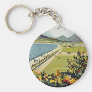 Bray ~ for better holidays basic round button key ring