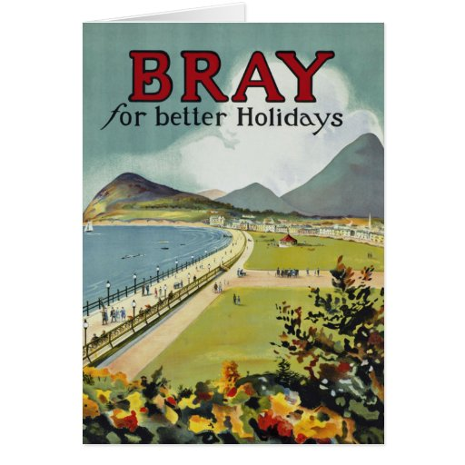 Bray ~ for better holidays cards