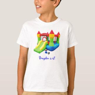 brayden tee, Brayden is 4!! T-Shirt