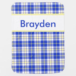 Brayden's Personalized Blanket Receiving Blanket
