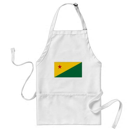 Brazil Acre Flag Apron