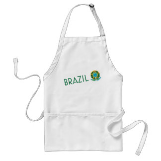 Brazil and Coat of Arms Standard Apron