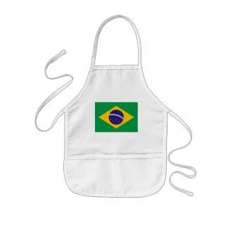 brazil kids' apron
