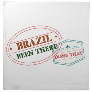 Brazil Been There Done That Napkin