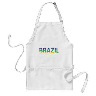 BRAZIL - Brasil Adult Apron