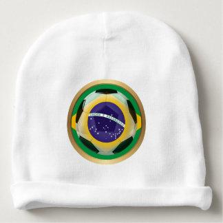 Brazil / Brasil Soccer Ball Baby Beanie