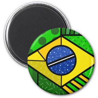 Brazil Brazil brazilian flag Magnet