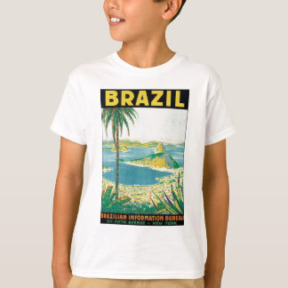 Brazil Brazilian Information Bureau T Shirt