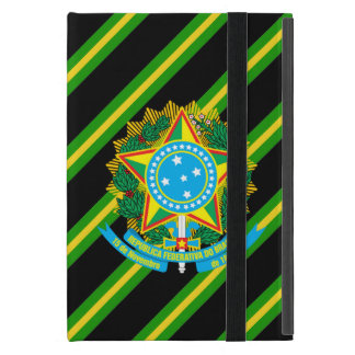 Brazil coat arms iPad mini case