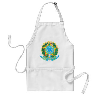 Brazil Coat Of Arms Aprons