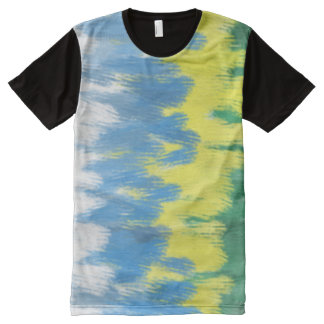 Brazil Colors Art All Over Tshirt