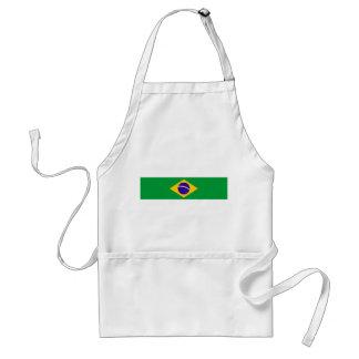 brazil country flag brazilian nation symbol standard apron