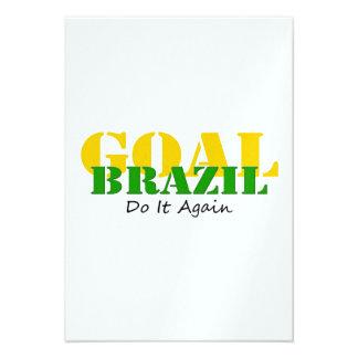 Brazil - Do It Again Invites