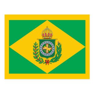 Brazil Empie Flag Postcard