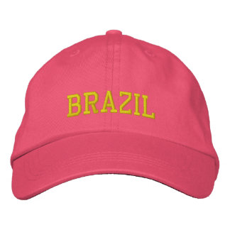 Brazil Female  Custom Hat