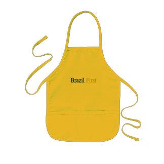 Brazil First Kids' Apron