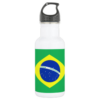 Brazil Flag 532 Ml Water Bottle