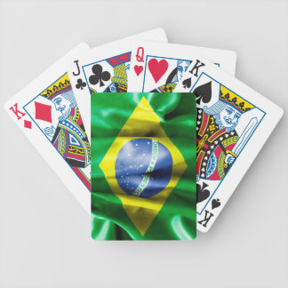 Brazil Flag Bicycle Palaying Cards