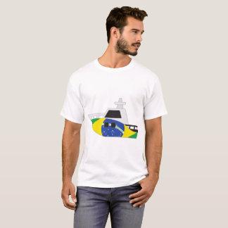 Brazil Flag Boat T-Shirt
