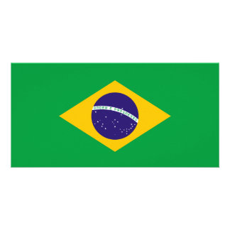 Brazil Flag Card