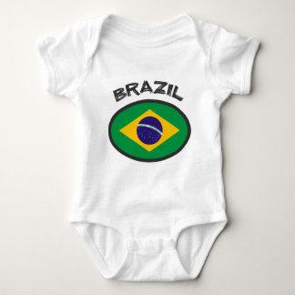 Brazil Flag - Cool Design! Baby Bodysuit