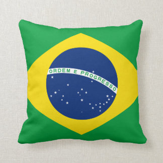Brazil Flag Cushion