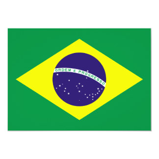 Brazil Flag Design Card
