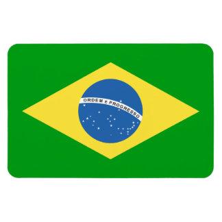 Brazil Flag Design Magnet