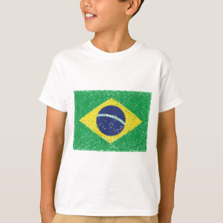 Brazil Flag *Hand-sketch* Brazilian T-Shirt