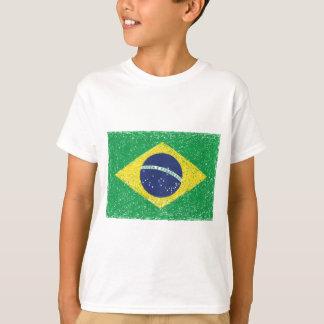 Brazil Flag *Hand-sketch* Brazilian Tee Shirts